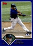 2003 Topps Traded #4 T Greg Vaughn  Front Thumbnail