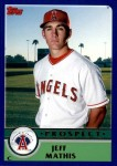 2003 Topps Traded #130 T  -  Jeff Mathis Prospect Front Thumbnail
