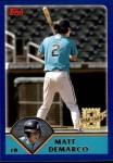 2003 Topps Traded #259 T  -  Matt DeMarko First Year Front Thumbnail