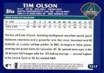 2003 Topps Traded #217 T  -  Tim Olson First Year Back Thumbnail