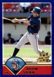 2003 Topps Traded #232 T  -  Adam Stern First Year Front Thumbnail