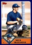 2003 Topps Traded #269 T  -  Nick Trzesniak First Year Front Thumbnail