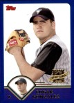 2003 Topps Traded #213 T  -  Edgar Gonzalez First Year Front Thumbnail