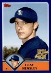 2003 Topps Traded #237 T  -  Clay Hensley First Year Front Thumbnail
