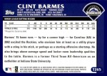 2003 Topps Traded #265 T  -  Clint Barmes First Year Back Thumbnail