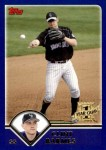 2003 Topps Traded #265 T  -  Clint Barmes First Year Front Thumbnail