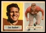 1957 Topps #74  Leo Sanford  Front Thumbnail
