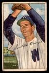 1952 Bowman #143  Sandy Consuegra  Front Thumbnail