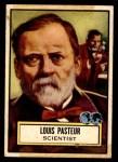 1952 Topps Look 'N See #76  Louis Pasteur  Front Thumbnail