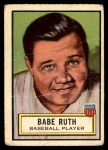 1952 Topps Look 'N See #15  Babe Ruth  Front Thumbnail