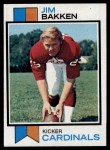 1973 Topps #97  Jim Bakken  Front Thumbnail