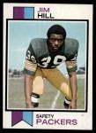 1973 Topps #263  Jim Hill  Front Thumbnail