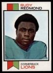 1973 Topps #331  Rudy Redmond  Front Thumbnail