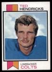 1973 Topps #430  Ted Hendricks  Front Thumbnail