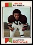 1973 Topps #315  Lemar Parrish  Front Thumbnail