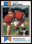 1973 Topps #378  Don Brumm  Front Thumbnail
