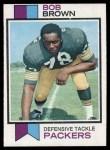 1973 Topps #82  Bob Brown  Front Thumbnail