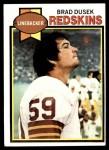 1979 Topps #436  Brad Dusek  Front Thumbnail