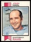 1973 Topps #215  John Hadl  Front Thumbnail