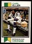1973 Topps #211  Carl Eller  Front Thumbnail