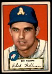 1952 Topps #41 RED Bob Wellman  Front Thumbnail