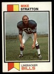 1973 Topps #388  Mike Stratton  Front Thumbnail