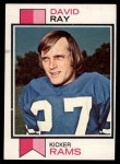 1973 Topps #244  David Ray  Front Thumbnail