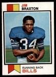 1973 Topps #154  Jim Braxton  Front Thumbnail