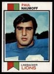1973 Topps #222  Paul Naumoff  Front Thumbnail