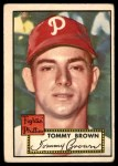 1952 Topps #281  Tom Brown  Front Thumbnail