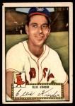 1952 Topps #78 RED Ellis Kinder  Front Thumbnail