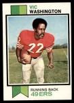 1973 Topps #238  Vic Washington  Front Thumbnail