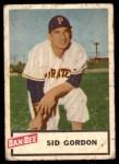 1954 Dan-Dee  Sid Gordon  Front Thumbnail