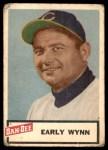 1954 Dan-Dee  Early Wynn  Front Thumbnail