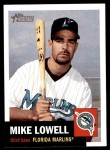 2002 Topps Heritage #75  Mike Lowell  Front Thumbnail