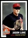 2002 Topps Heritage #18  Jason Lane  Front Thumbnail