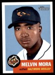 2002 Topps Heritage #14  Melvin Mora  Front Thumbnail