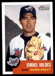 2002 Topps Heritage #47  Ismael Valdes  Front Thumbnail