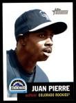 2002 Topps Heritage #175  Juan Pierre  Front Thumbnail
