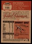 2002 Topps Heritage #155  Bobby Higginson  Back Thumbnail
