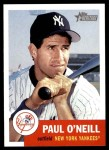2002 Topps Heritage #127  Paul O'Neill  Front Thumbnail