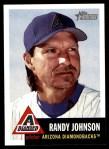 2002 Topps Heritage #10  Randy Johnson  Front Thumbnail