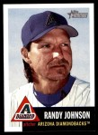 2002 Topps Heritage #10  Randy Johnson  Front Thumbnail