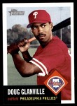 2002 Topps Heritage #62  Doug Glanville  Front Thumbnail