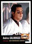 2002 Topps Heritage #81  Andres Galarraga  Front Thumbnail