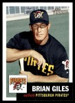 2002 Topps Heritage #191  Brian Giles  Front Thumbnail