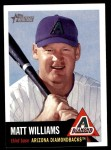 2002 Topps Heritage #78  Matt Williams  Front Thumbnail