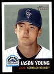 2002 Topps Heritage #79  Jason Young  Front Thumbnail