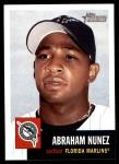 2002 Topps Heritage #44  Abraham Nunez  Front Thumbnail