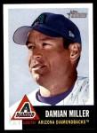 2002 Topps Heritage #122  Damian Miller  Front Thumbnail